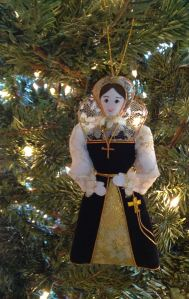 A miniature Queen of Scots,made in Edinburgh