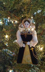 A miniature Queen of Scots,made in Edinburgh