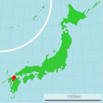 HD FRANCESCA_Fukuoka_map of Japan